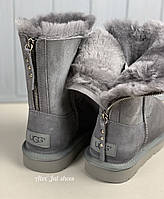Женские угги Ugg Australia Zip Short grey