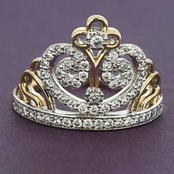 Кольцо Xuping 18 карат №166 размер 16,17