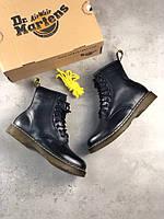 Женские зимние ботинки Dr. Martens Originals 1460 (Реплика Люкс) 36