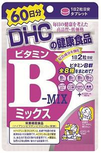 DHC японские витамины группы B 120 таблеток на 60 дней