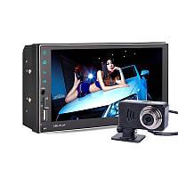 7 дюймов Авто Двойной шпиндель HD Touch MP5 Bluetooth Handsfree GPS DVD-плеер для навигации 1TopShop