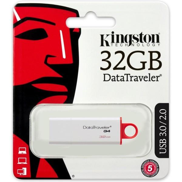 USB флеш пам'ять Kingston DataTraveler 32Gb I G4 (DTIG4/32Gb)