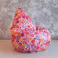 """Кресло-мешок """"Сказочный цветок"""", Размер XL - 125x90"""