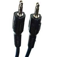 Кабель штекер 3.5 - штекер 3.5 стерео 2,5м диаметр кабеля 3мм