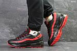 Зимние кроссовки Nike 95 (черно/красные) ЗИМА, фото 2