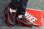 Зимние кроссовки Nike 95 (черно/красные) ЗИМА, фото 5