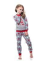 Детская пижама для девочки утепленная Ellen (рост 146-158), фото 1