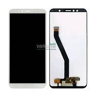 Модуль Huawei Y6 (2018)/Y6 Prime (2018)/Honor 7A white дисплей экран, сенсор тач скрин Хуавей Хуавэй У6
