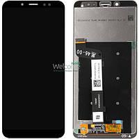 Модуль Xiaomi Redmi Note 5/Note 5 Pro black дисплей экран, сенсор тач скрин Сяоми Ксиоми Редми Нот 5 Про