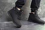 Зимние ботинки Timberland (черные нубук), фото 5