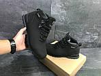 Зимние ботинки Timberland (черные нубук), фото 2