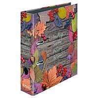 Папка-регистратор Herlitz А4 8см Autumn Delight Leaves