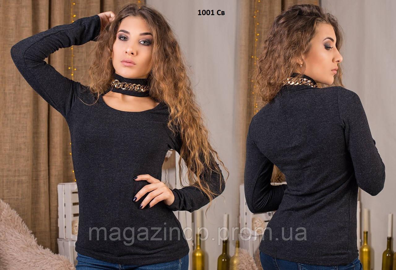 Трикотажная женская кофта 1001 Св Код:822863634