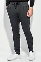 Мужская брюки на каждый день, спортивные стильные 70PD5006 (Грифельный меланж)