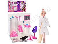Мебель, ванная комната, кукла 29см (длин.волосы), краска для волос, аксесс, в кор-ке