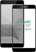 Защитное стекло XIAOMI Redmi Note 4X Full Glue (0.3 мм, 2.5D, с олеофобным покрытием) black Сяоми Ксиоми Редми Нот 4Х