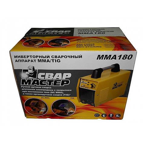 Сварочный инверторный аппарат СВАРМАСТЕР MMA180 , фото 2