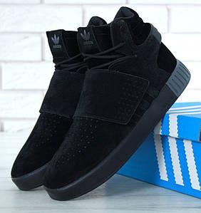 Зимние мужские кроссовки Adidas Tubular Invader Strap Winter