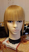 Накладная челочка из славянских волос