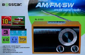 Радиоприемник - колонка BOSSTAR BL 2000