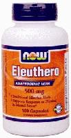 Корень элеутерококка, Now Foods, Eleuthero, 500 mg, 100 Caps