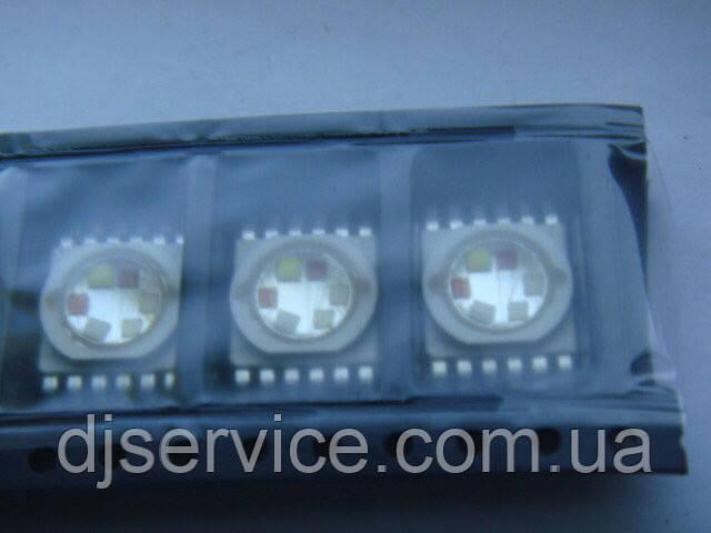 LED диод 18w 6pin RGBWA+UV для PAR 64