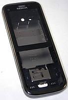 Корпус Nokia C5-00 полный чёрный/серебро High Copy