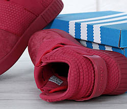 Женские кроссовки в стиле Adidas Tubular Invader Strap Red, фото 2
