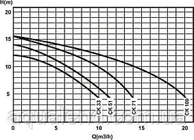 Насос Caribe СК51 Kripsol циркуляційний 0,58 кВт, 8.5м3/год, фото 3