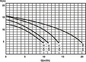 Насос Caribe СК71 Kripsol циркуляционный 0,75кВт, 11,9м3/ч, фото 3