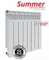 Радиатор биметаллический EKVATOR(Summer) 500/76 мм