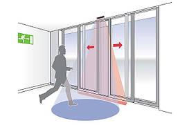 Автоматические раздвижные двери для АЗС