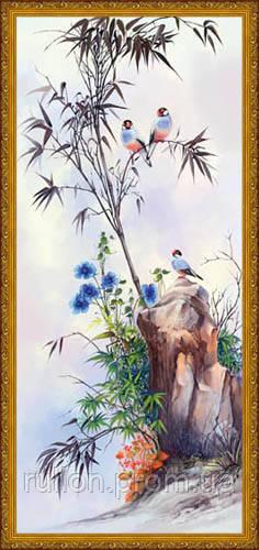 Картина YS-Art CA166-6 33x70 (золотистая рамка)