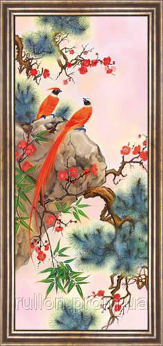 КартинаYS-Art CA167-2 33x70 (коричневая рамка)