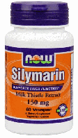 Силимарин, Now Foods, Silymarin, 150 mg, 60 Veggie Caps  ,