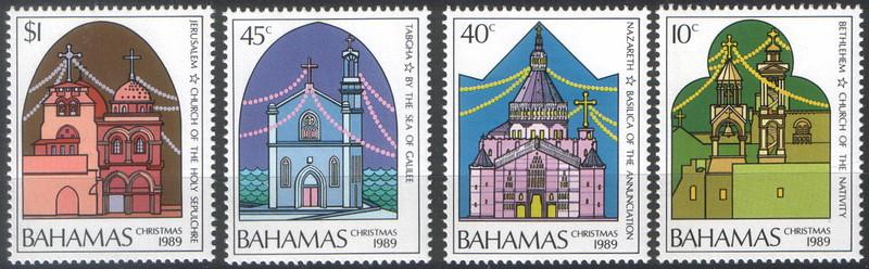Bahamas 1989 церкви