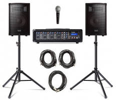 Комплект звукового оборудования Alesis Pa System In A Box Bundle