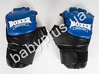 Перчатки ИеригумиL (кожа) синие