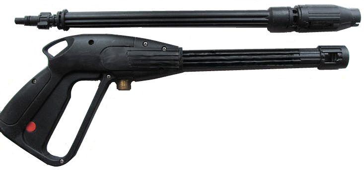 Пистолет для мойки-защелка