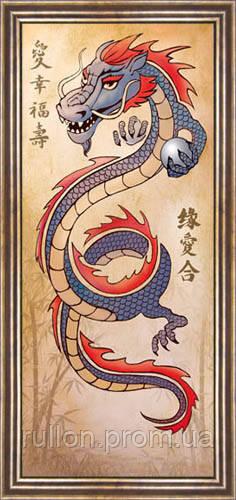 Картина YS-Art CA176-2 33x70 (коричневая рамка)