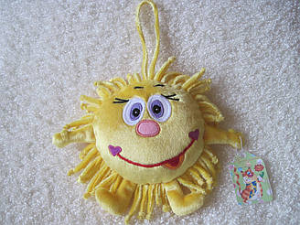 Мягкая игрушка Солнце ручная работа