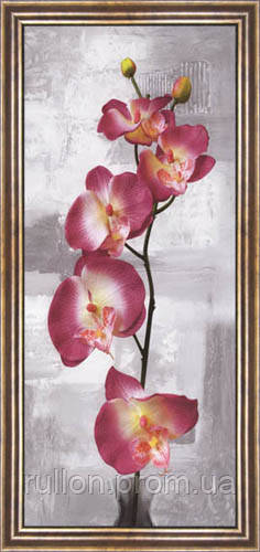 Картина YS-Art CA177-2 33x70 (коричневая рамка)