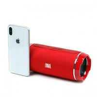 TG Портативная bluetooth колонка влагостойкая TG116 Red c USB и MicroSD