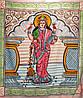 Покрывало Панно Лакшми Богиня Богатства