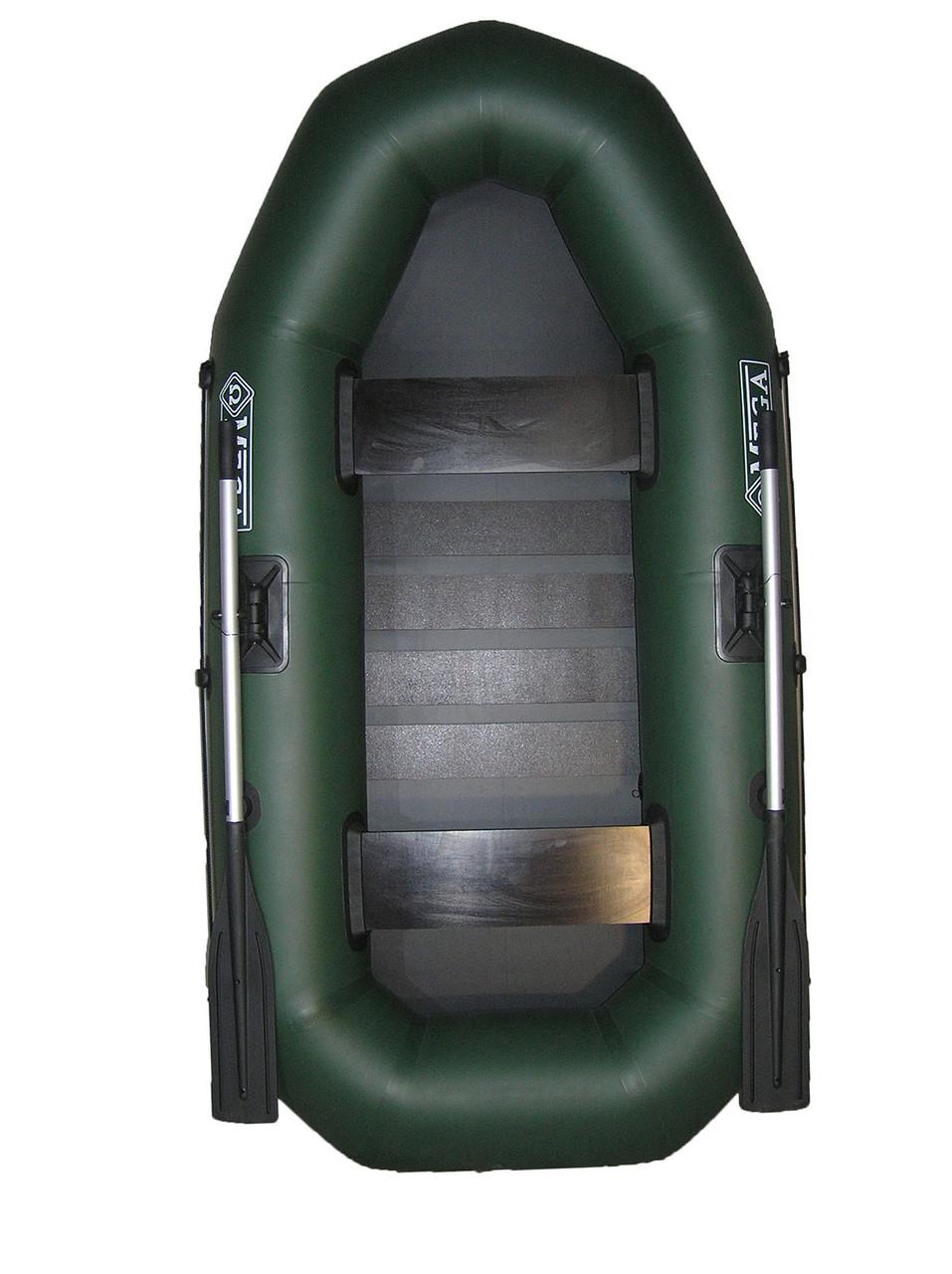 Лодка двухместная надувная пвх omega Ω 245 LS