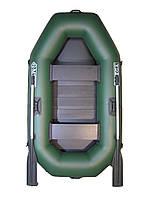 Лодка двухместная надувная пвх mega Ω 220 LS