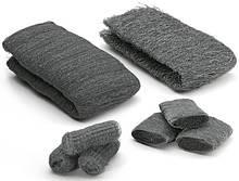 """Стальная вата (шерсть) """"0000"""", Steel Wool, 1 метр, 100-120 грамм"""