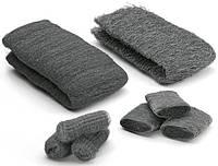 Стальная вата, шерсть 000, Steel Wool, 1 метр,  Borma Wachs