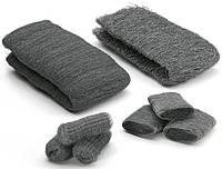 Стальная вата, шерсть 000, Steel Wool, 1 метр, 50-60 грамм, Borma Wachs