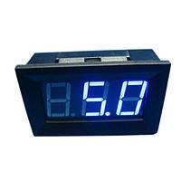 Цифровий вольтметр 0 -100В (синій), фото 1